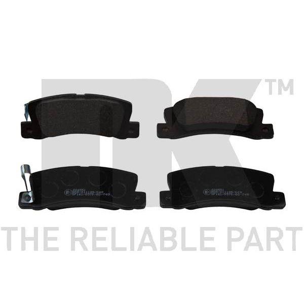 Bremseklodser - sæt til begge hjul