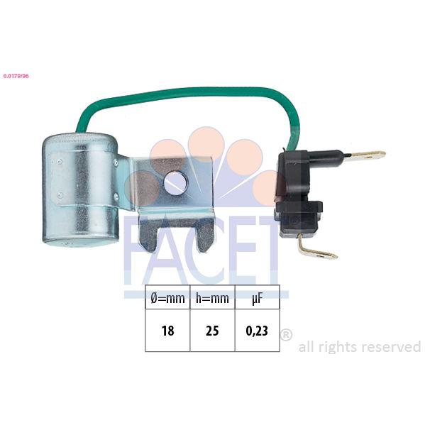 Kondensator, tændingssystem Made in Italy - OE Equivalent