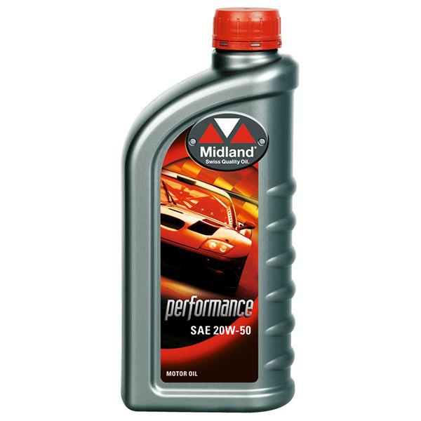 Motorolie MIDLAND   PERFORMANCE   SAE 20W-50