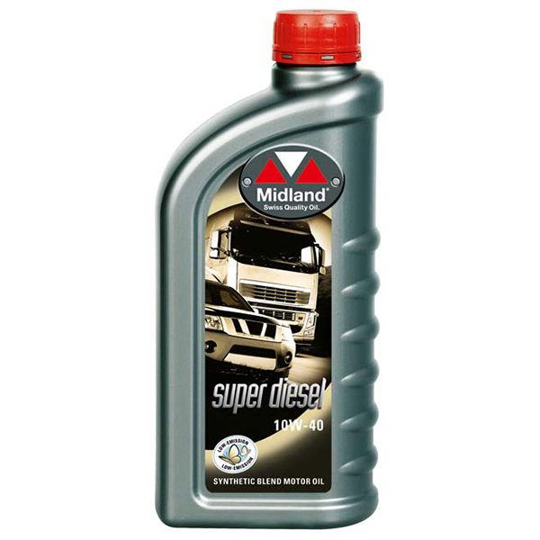 Motorolie MIDLAND   SUPER DIESEL   SAE 10W-40